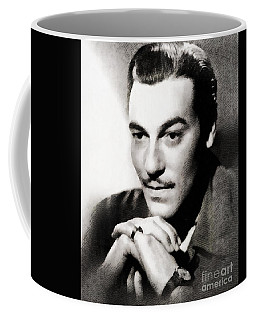 Cesar Romero, Vintage Hollywood Actor Coffee Mug