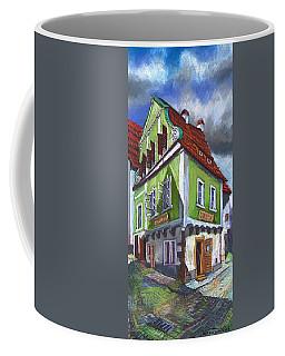 Cesky Krumlov Old Street 3 Coffee Mug