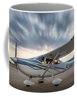 Cessna 182 On The Ramp Coffee Mug