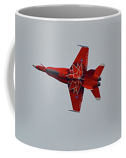 Cf-18 Demonstration For Canada 150  Coffee Mug