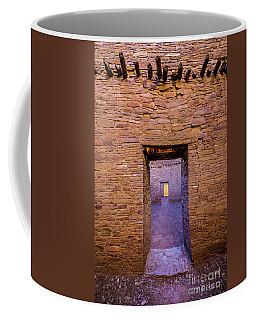 Chaco Canyon - Pueblo Bonito Doorways - New Mexico Coffee Mug