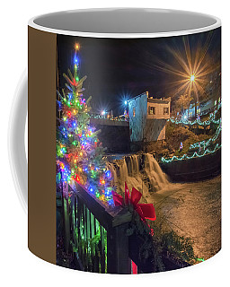 Chagrin Falls At Christmas Coffee Mug
