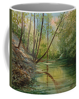 Chagrin River In Spring Coffee Mug