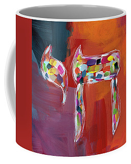 Chai Of Many Colors- Art By Linda Woods Coffee Mug
