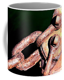 Coffee Mug featuring the photograph Chain Age by Stephen Mitchell