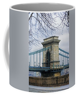 Chain Bridge Pier Coffee Mug