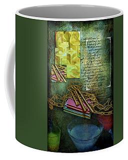 Chains, Poetry And Spirits Coffee Mug