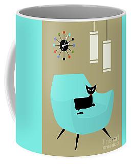 Chair With Ball Clock Coffee Mug
