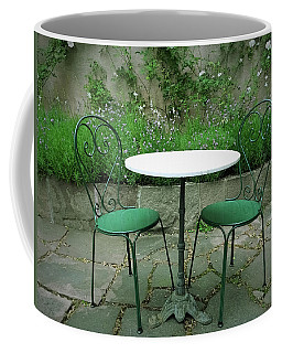 Chairs And Table In A Magic Summer Garden  Coffee Mug