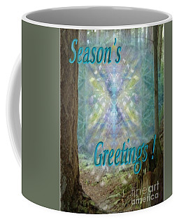 Chalice-tree In The Forest V2 Holiday Card Coffee Mug by Christopher Pringer