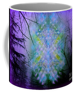 Chalice-tree Spirit In The Forest V1a Coffee Mug by Christopher Pringer