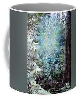 Chalice-tree Spirit In The Forest V3 Coffee Mug by Christopher Pringer