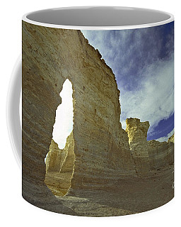 Chalk Pyramids Coffee Mug