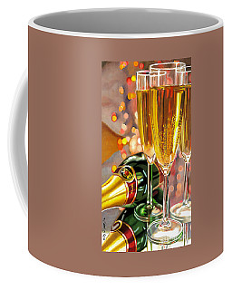 Champagne Wishes Coffee Mug