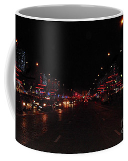 Champs-elysees To The Arc De Triomphe Paris Coffee Mug
