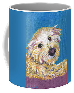 Coffee Mug featuring the painting Chance by Jamie Frier