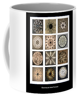 Chandeliers From Chicago Poster Coffee Mug