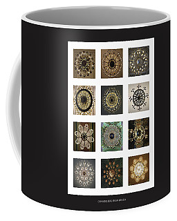 Collection Poster Chandeliers From Russia Coffee Mug
