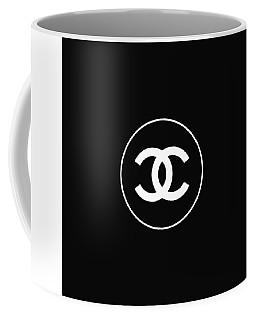 Chanel - Black And White 02 - Lifestyle And Fashion Coffee Mug