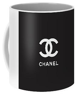 Chanel - Black And White 03 - Lifestyle And Fashion Coffee Mug