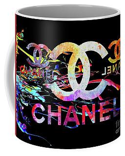 Chanel Black Coffee Mug
