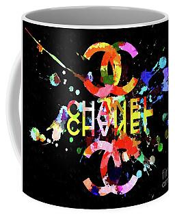 Chanel Blacky Black Coffee Mug