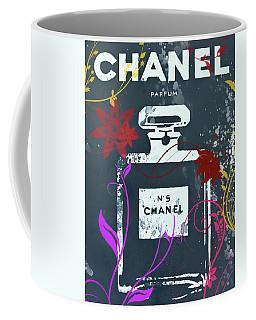 Chanel Floral Parfum Coffee Mug