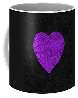 Chanel Heart-6 Coffee Mug