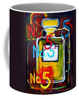 Chanel No. 5 Coffee Mug