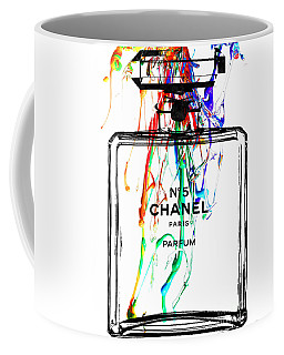 Chanel No. 5 Watercolor Coffee Mug