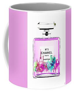 Chanel Perfume Pink Coffee Mug