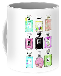 Chanel Perfume Set 9er Coffee Mug