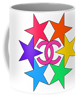 Chanel Stars-15 Coffee Mug