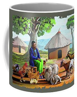 Change Of Scene Coffee Mug by Anthony Mwangi