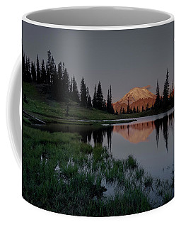 Coffee Mug featuring the photograph Changing Lights by Gene Garnace
