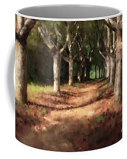 Coffee Mug featuring the digital art Changing Of Seasons by Dwayne Glapion