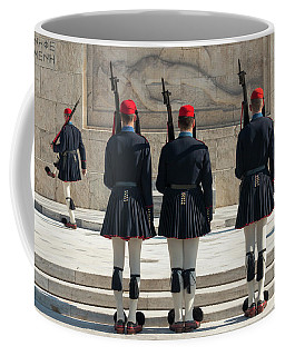 Changing Of The Guards Coffee Mug