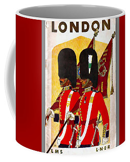 Changing The Guard London - 1937 Coffee Mug