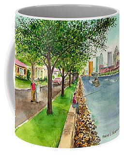 Channel Drive Tampa Florida Coffee Mug by Frank Hunter