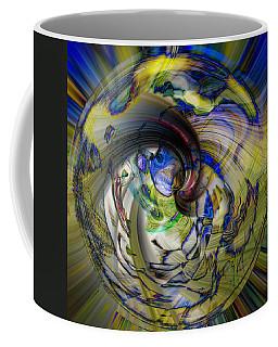 Chaos Coffee Mug by Cathy Donohoue