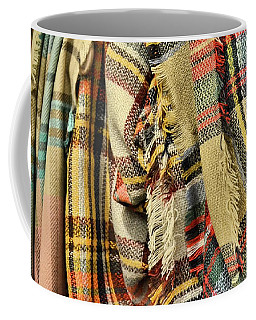 Chaos In Tartan Coffee Mug by JAMART Photography