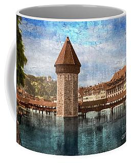 Chapel Bridge In Lucerne Coffee Mug