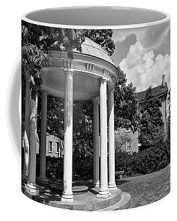 Chapel Hill Old Well In Black And White Coffee Mug
