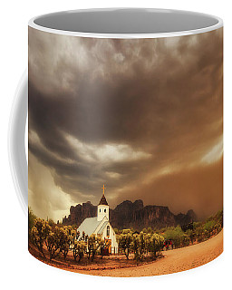 Chapel In The Storm Coffee Mug