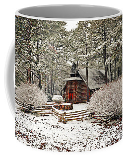 Chapel In The Woods Coffee Mug