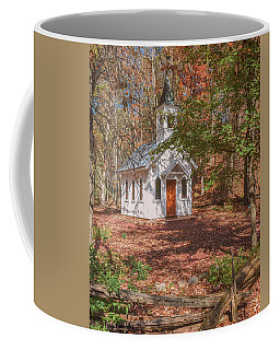 Chapel In Woods At Red Mill 3 Coffee Mug