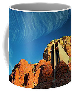Chapel Of The Holy Cross, Sedona, Arizona Coffee Mug