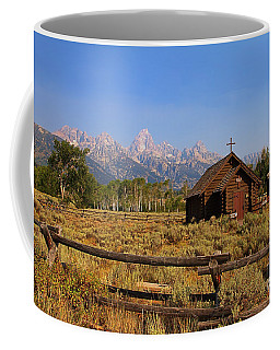 Chapel Of The Transfiguration Coffee Mug by Teresa Zieba