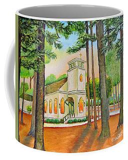 Chapel Coffee Mug by Shelia Kempf