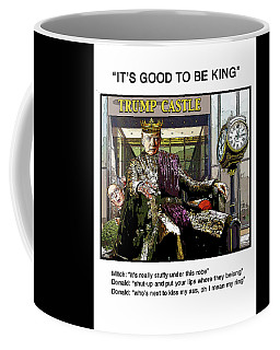 Chapter 7 It's Good To Be King Coffee Mug by Joe  Palermo